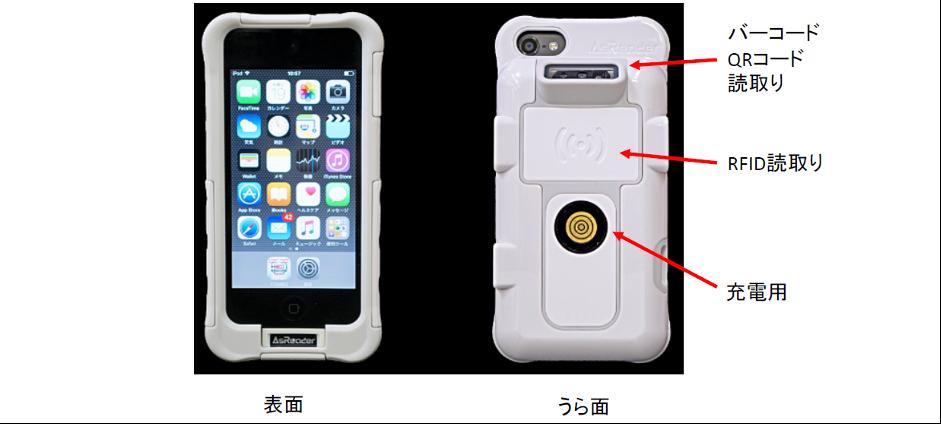iPhone/iPodを使った端末/画面イメージ01