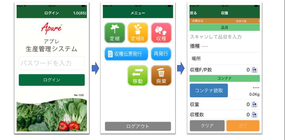 iPhone/iPodを使った端末/画面イメージ02
